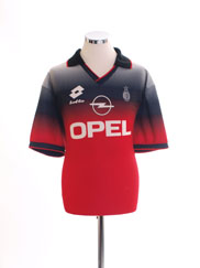 1995-96 AC Milan Lotto Training Shirt L