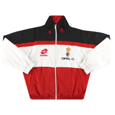 1995-96 AC Milan Lotto Training Jacket L
