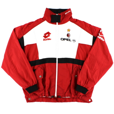 1995-96 AC Milan Lotto Track Jacket XXL