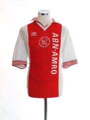 1995-96 Ajax Home Shirt