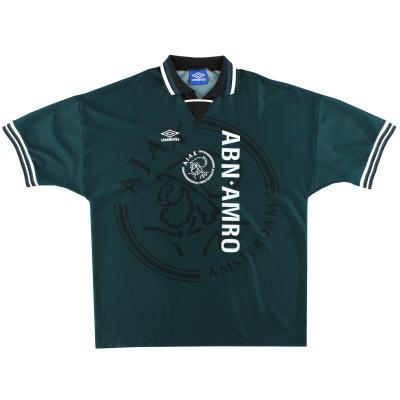 1995-96 Ajax Umbro Away Shirt XL