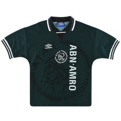 1995-96 Ajax Umbro Away Shirt Y