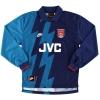 1995-96 Arsenal Away Shirt Bergkamp #10 L/S *Mint* M