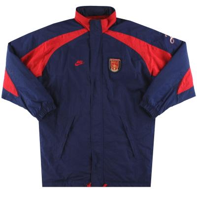 1995-96 Arsenal Nike Bench Coat XL
