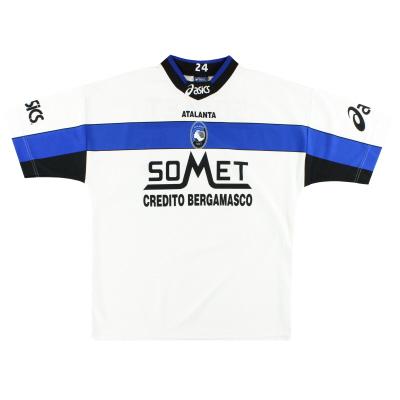 1995-96 Atalanta Asics Player Issue Training Shirt #24 XL