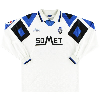 1995-96 Atalanta Player Issue Away Shirt #11 L/S L