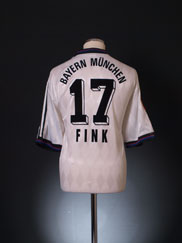 1995-96 Bayern Munich Away Shirt Fink #17 XL
