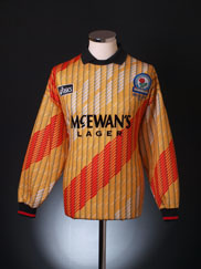 1995-96 Blackburn Goalkeeper Shirt *As New* M