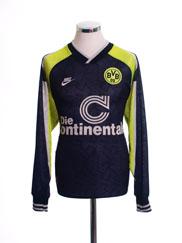 1995-96 Borussia Dortmund Away Shirt L/S L