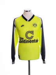 1995-96 Borussia Dortmund 'Deutscher Meister' Home Shirt L/S L