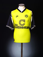 1995-96 Borussia Dortmund Home Shirt XL