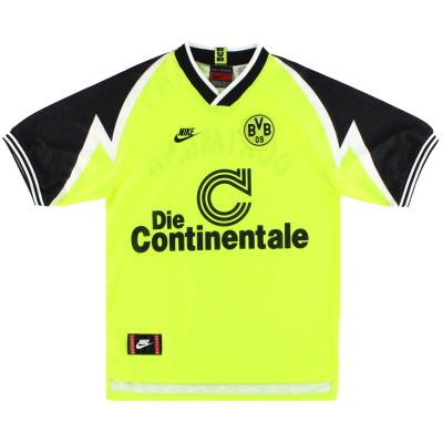 1995-96 Borussia Dortmund Nike Home Shirt S