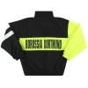 1995-96 Borussia Dortmund Nike Woven Bench Jacket L.Boys