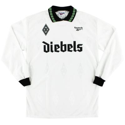 1995-96 Borussia Monchengladbach Home Shirt L/S *Mint* L