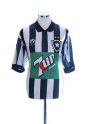 1995-96 Botafogo Home Shirt #9 L