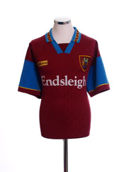 1995-96 Burnley Home Shirt L