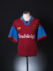 1995-96 Burnley Home Shirt XL