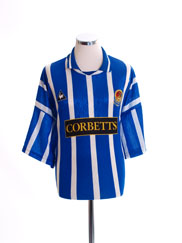 1995-96 Chester Home Shirt XXL