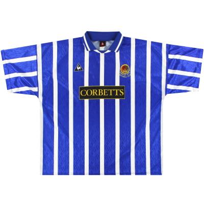 1995-96 Chester Le Coq Sportif Home Shirt XXL