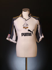 1995-96 Derby County Match Issue Home Shirt #4 XL