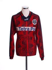 1995-96 Eintracht Frankfurt Home Shirt #10 L/S M