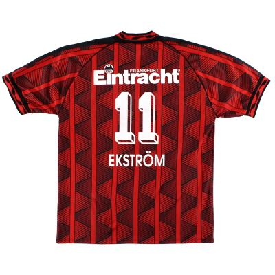 1995-96 Eintracht Frankfurt Puma Home Shirt Ekstrom #11 *Mint* XL
