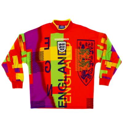 1995-96 England Goalkeeper Shirt L.Boys
