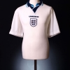 1995-96 England Player Issue Home Shirt #17 XL