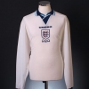 1995-96 England Youth Player Issue Home Shirt #9 L/S XL