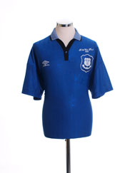 1995-96 Everton 'FA Cup Final' Home Shirt L