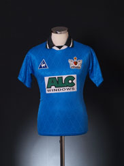 1995-96 Exeter Third Shirt S