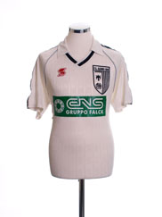 1995-96 FC Alzano Match Issue Home Shirt #2 L