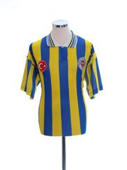 1995-96 Fenerbahce Home T-Shirt #11 L