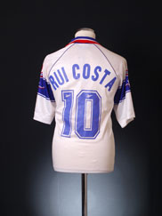 1995-96 Fiorentina Away Shirt Rui Costa #10 *BNWT* XL