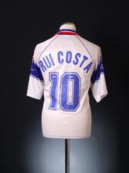 1995-96 Fiorentina Away Shirt Rui Costa #10 *BNWT* XL