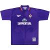 1995-96 Fiorentina Reebok Home Shirt Rui Costa #10 XL