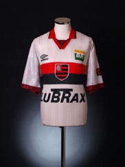 1995-96 Flamengo Centenary Away Shirt XL