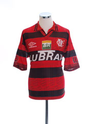 1995-96 Flamengo Home Shirt L