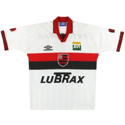 1995-96 Flamengo Umbro Centenary Away Shirt XL