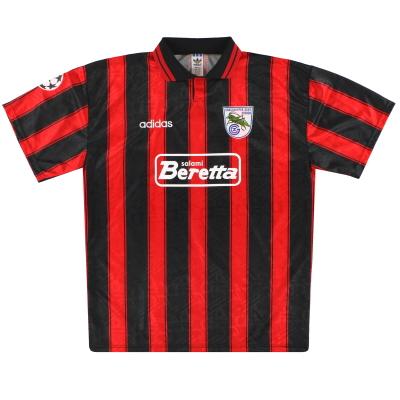 1995-96 Grasshoppers adidas Match Issue CL Away Shirt #2 XL