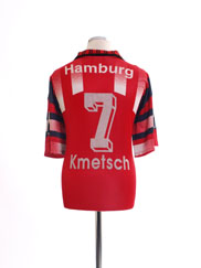 1995-96 Hamburg Third Shirt Kmetsch #7 XL