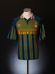 1995-96 Inter Milan Away Shirt *BNWT* L