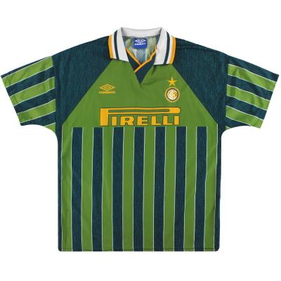 1995-96 Inter Milan Umbro Away Shirt XL