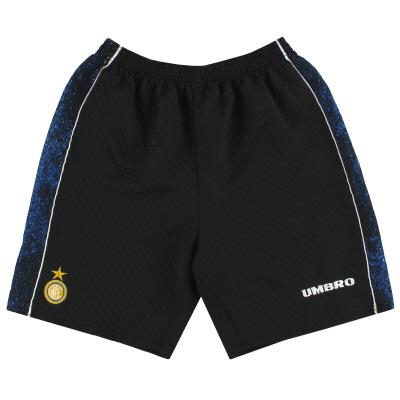 1995-96 Inter Milan Umbro Goalkeeper Shorts M