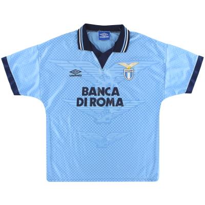 1995-96 Lazio Umbro Home Shirt M