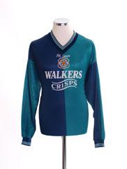 1995-96 Leicester Third Shirt L/S L