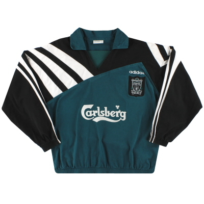 1995-96 Liverpool adidas Drill Top L