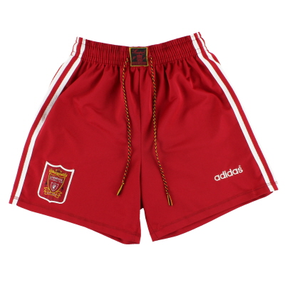 1995-96 Liverpool adidas Home Shorts L