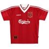 1995-96 Liverpool adidas Home Shirt Ruddock #25 *Mint* L