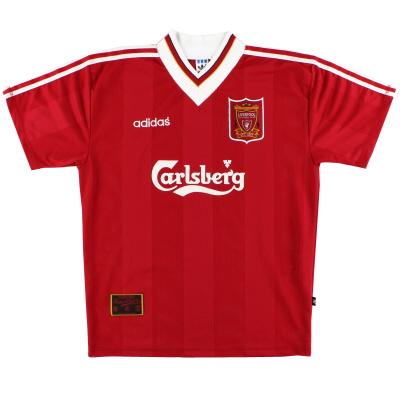 1995-96 Liverpool adidas Home Shirt S